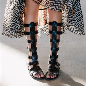 Feryl Robin x Free People gladiator shoes
